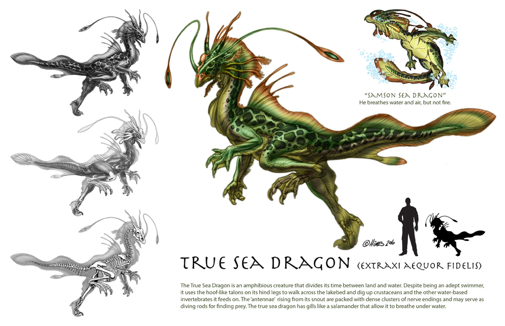 True Sea Dragon